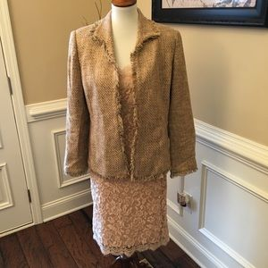 Muse Lace Dress Suit Sz 10